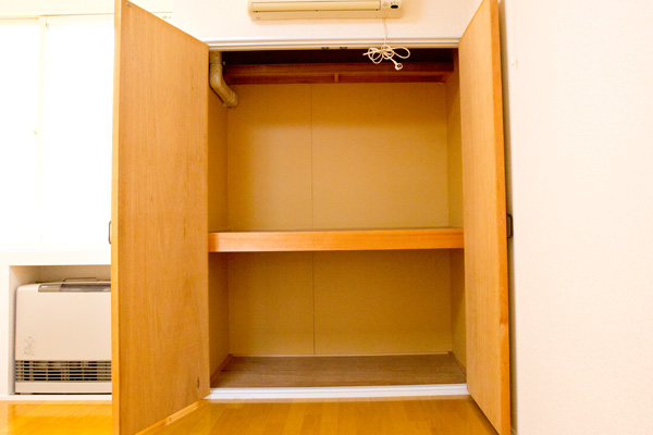 弘前市のアパート・賃貸 サンライズマンション21 B棟 クローゼット