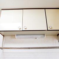 弘前市のアパート・賃貸 サンライズマンション21 A・B棟 キッチン収納