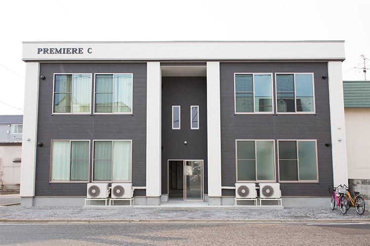 青森県弘前市の賃貸アパート サンライズプレミアC