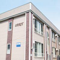 弘前市のアパート・賃貸 サンライズマンションスピリッツ 外観