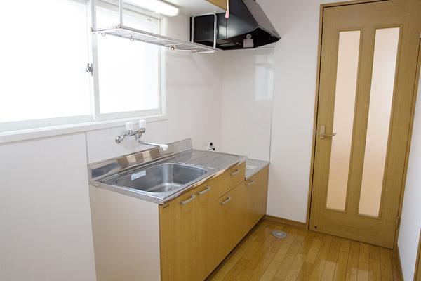 弘前市のアパート・賃貸 サンライズマンションスピリッツ キッチン